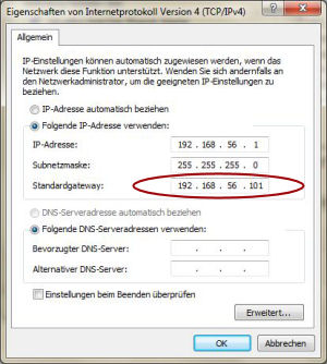 IPv4-Konfiguration